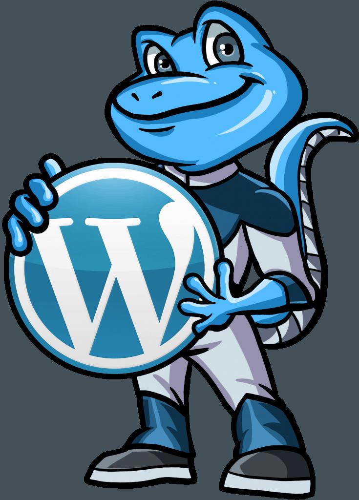 Gecko With WordPress